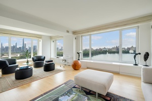 THE MOST SPECTACULAR CENTRAL PARK, RESERVOIR, AND SKYLINE VIEWS ON FIFTH AVENUE.