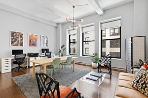 Massive Midtown South Loft Like One Bed/Two Bath with Additional Home Office/Sleeping Den