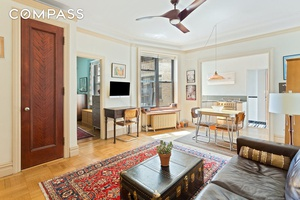 Combining stunning prewar details, uptown spaciousness and fantastic views, this beautifully renovated one bedroom, one bathroom home is a not to be missed treasure in a revered Washington Heights cooperative.