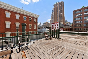 Soho Townhouse-Like 3 Bed, 2 Bath with a Private Huge Rooftop Terrace