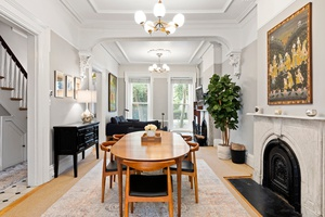 Stunning Boerum Hill 5 Bed Townhouse Triplex with Deck and Huge Backyard