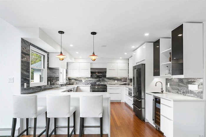 Sleek Open kitchen