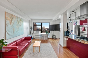Sunny, spacious, renovated furnished 2 bedroom Condop penthouse with views.