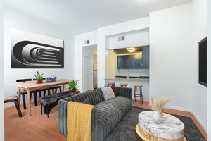 Stunning 1 Bedroom Renovated Apartment in Downtown Hoboken, NJ .  Laundry on site, Storage Available! All New Stainless Steel Appliances!  $1,000 Security Deposit, 1 Month Free and No Broker Fees!