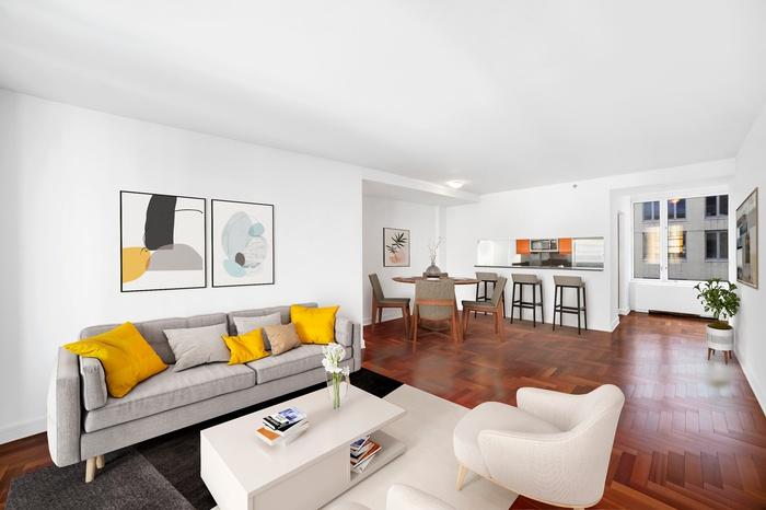 Sprawling 1 Bed 1.5 Bath @ Luxurious UWS Condominium!