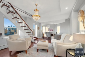Amazing residence ! 22 23C is a bright, large, and renovated three bedroom, two bathroom duplex.