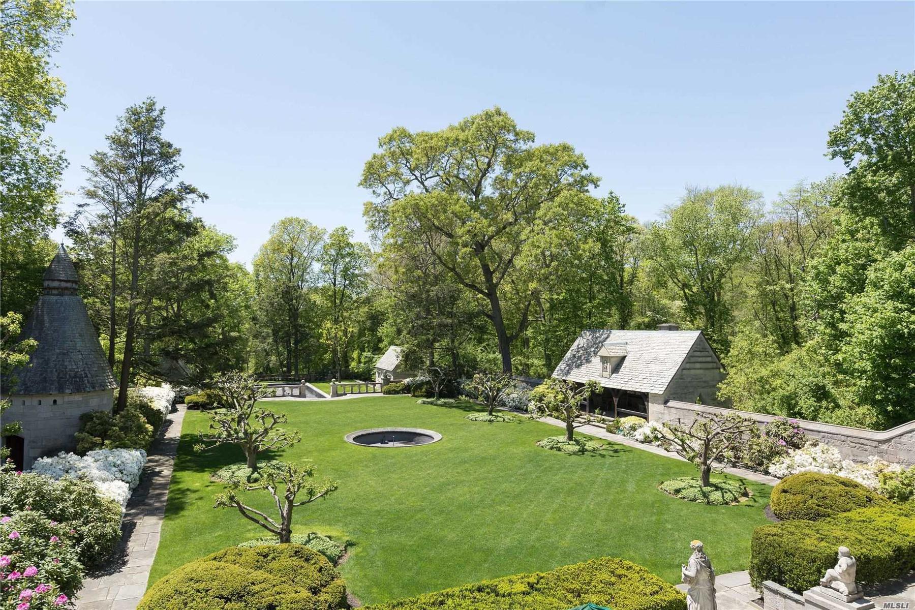 Main Garden/Tea House/Dove Cote