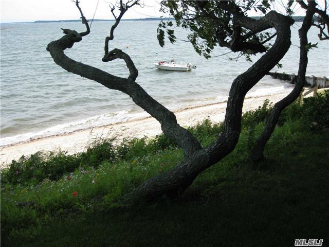 Beach and Bay