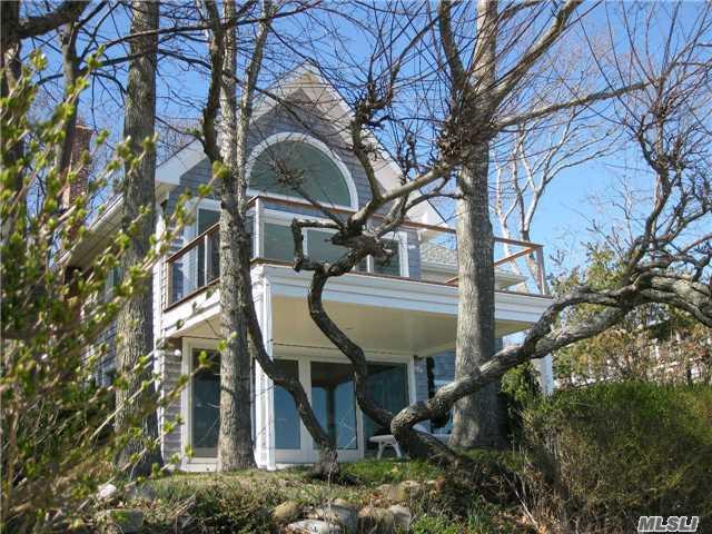 Bayfront side of house