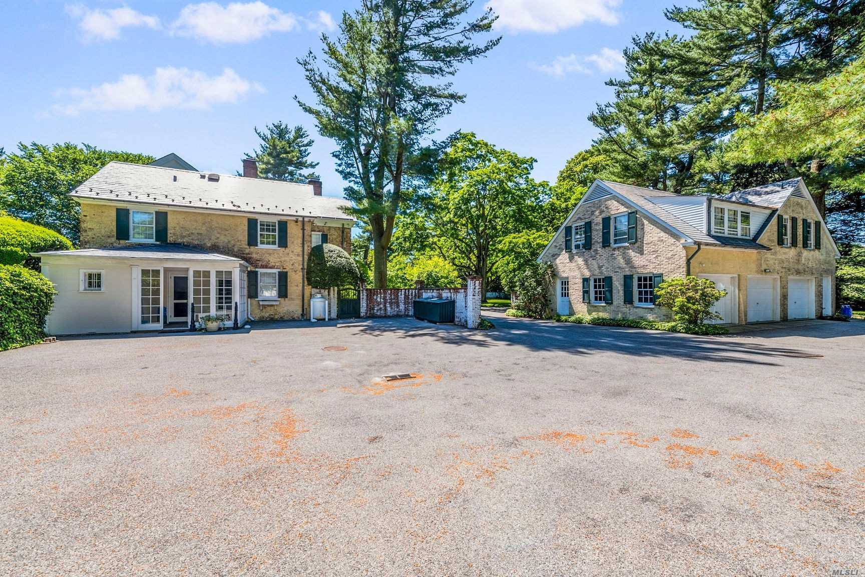 Circular Drive leads to Grand Manor