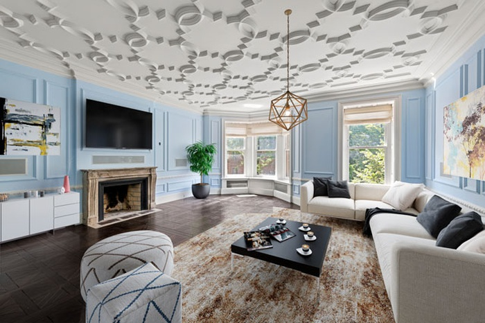 Wondrous Townhouse Nestled Right Off of Central Park with Multiple Outdoor Spaces