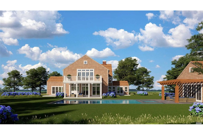 Brand New Construction with Inground Pool and Pool House