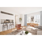 IMPECCABLE NEWLY RENOVATED 1 BED/ 1 BATH LUXURY APARTMENT IN FINANCIAL DISTRICT BUILDING | NO FEE | DOORMAN | DECK | W/D UNIT | GYM