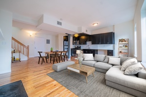 Rarely Available 1 Bedroom 1.5 Bath with Private Roof Deck! Laundry in Unit! Duplex Apartment! Grand Adams Living!