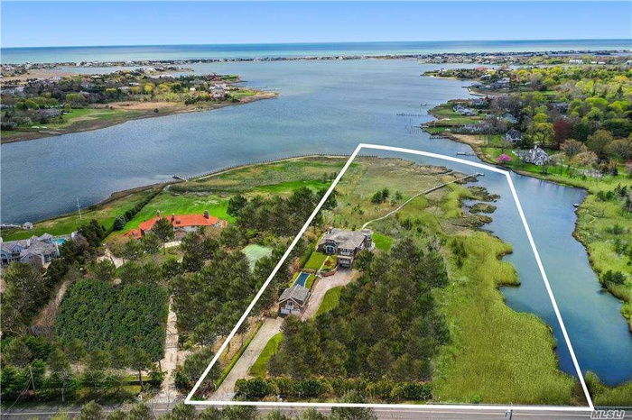 Rare!  One of a kind Bayfront on shy 6 Acre Lot