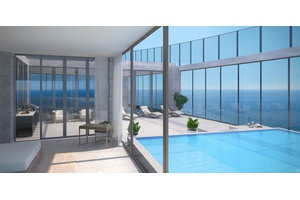 Bi-level Penthouse on the Beach: Armani/Casa Residences in Sunny Isles