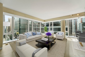 Luxury corner unit 3 bedroom with 3 full bath in unparalleled location