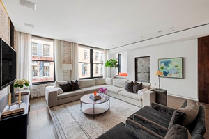 Mint Renovated Modern Two Bedroom Loft Plus Luxurious Home Office with Low Maintenance on Prime Soho Block