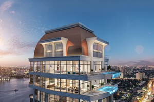 STUNNING ACQUALINA PENTHOUSE COLLECTION AT THE MANSIONS IN SUNNY ISLES!
