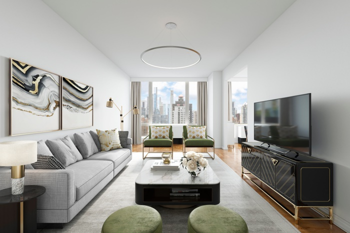 Sprawling 3 Bedroom with Breathtaking NYC Skyline, East River & Central Park Views