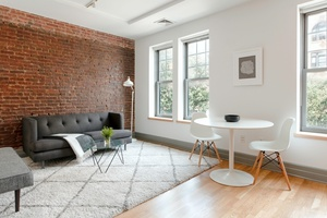 No fee , Unique studio apartment in Cobble Hill , w/ large outdoor terrace, w/d in unit