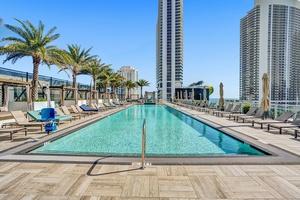 Miami Condo Hotel | Investment ROI 3% | 4 Star Waterfront Hotel | Private Beach | 2 bed 2 bath