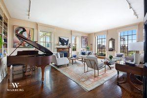 Perched atop one of New York City's most exquisite prewar buildings, this sprawling 14 room apartment has it all a 6 bedrooms, 6.