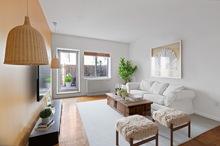 Private Outdoor Oasis in Full Service Harlem Condo