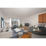 No Fee, 1BR in Full Service TriBeCa Building