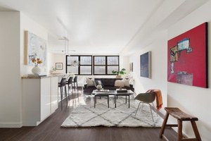 Enjoy sweeping views of Union Square and the landmarked Con Edison Clock Tower from your South facing windows.