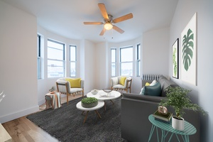 No Broker Fees and 1 Month Free!  Beautiful Open 2BR Apartment located in one of the most desirable Downtown Hoboken Locations available!
