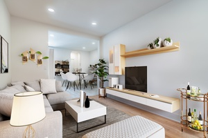 Beautiful Open Renovated 1BR Apartment located on Park Avenue in Hoboken NJ.