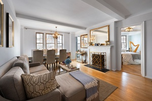Bright & Charming 1-Bedroom with Fireplace!