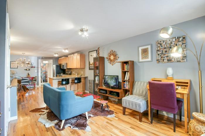 Charming Spacious Condo Duplex For Sale  in Clinton Hill, Brooklyn