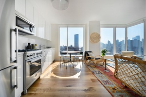 Sunny and Modern Lower East Side Home New Luxury Construction (No Fee)