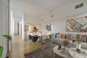 Beautiful Open and Spacious Brand New Renovation 2 Bedroom 1.5 Bathroom Soho Loft Duplex located at the Grand Adams in Downtown Hoboken!