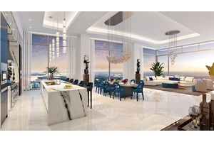Beach Front 2-Story Palace PENTHOUSE In The Sky!