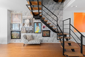 Contemporary Prospect Heights 4 bedroom triplex.