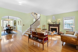 Team MPC is proud to present this elegant, extraordinary semi-detached English Garden home in the gracious landmark district of Jackson Heights!