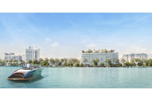 Miami Boutique New Development with Private Marina | Waterfront | Bay and City Views | 2 bed + Den | 3 Bath | 2,583 Total SqFt