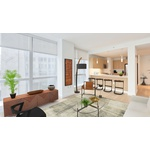 No Broker Fee! Studio Apartment in Sensational Glass Tower on Park Ave