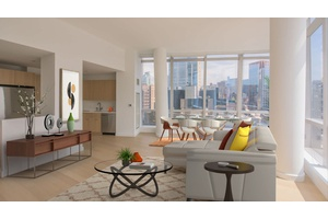 No fee, 3 bed/13 bath Sunny Apartment in NoMad, W/D in Unit!