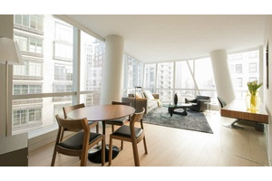 No Fee! New 2 Bed/2 Bath Glass Tower with Terrace!