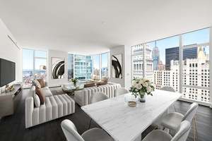 Stunning 40th Floor 3-Bed at Madison Square Park Tower Asking $7.45M