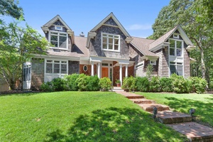 EAST HAMPTON ON 5.5 acres with TENNIS & BBALL COURTS